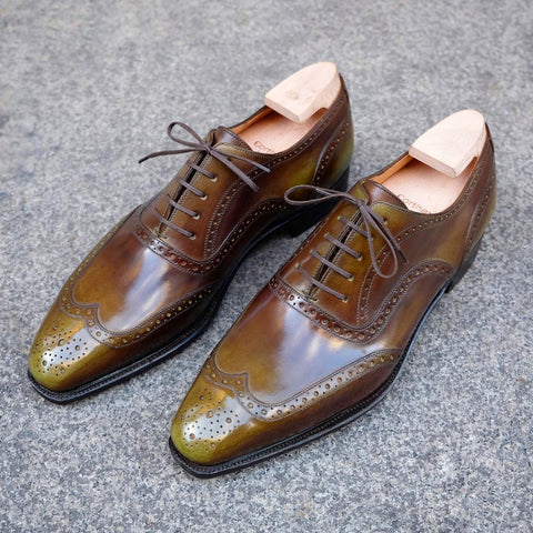 Vendôme - Olive Calf Patina