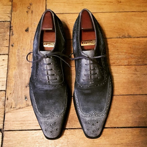 Vendôme - Flint Suede Patina