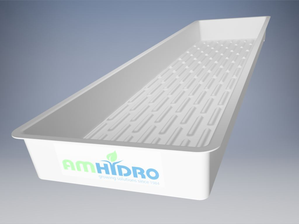 AmHydro Multi-Purpose (propagation & fodder) Growing Tray (11.5 x 44 inches)