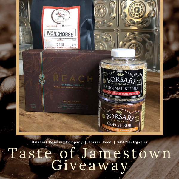 Taste of Jamestown Giveaway