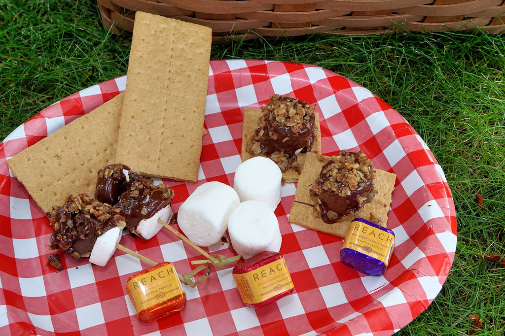 Deconstructed S'more Kabobs
