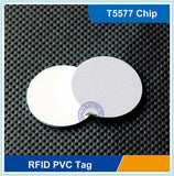 RFID - Blank Coin Fob - T5557/T5577 - Tags - 125KHz