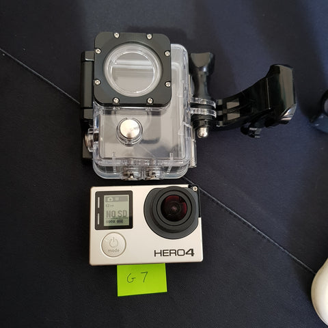 GoPro Hero4 with Standard GoPro WaterProof Case