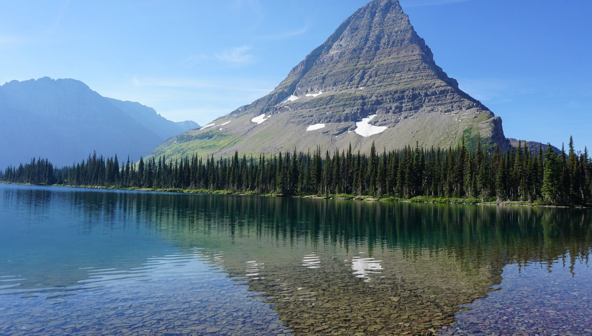 Love & Trail Magic in Glacier National Park
