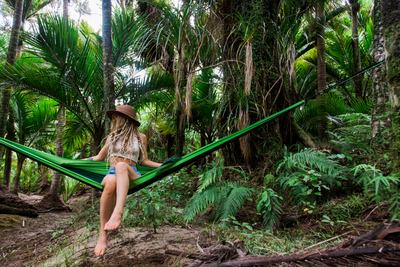 Hiker Hunger - Blue Hammock Set - Best Hiking Gear!