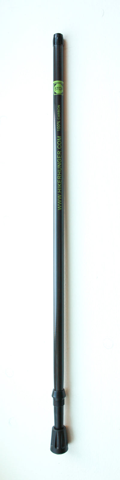 Reusable Carbon Fiber Trekking Pole Replacement Sections