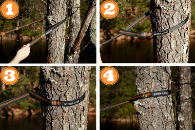 Hiker Hunger - 10' Feet Hammock Straps - Best Hiking Gear!
