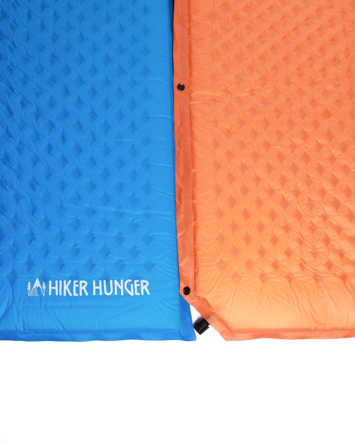 Hiker Hunger - Blue Self Inflating Pad - Best Hiking Gear!