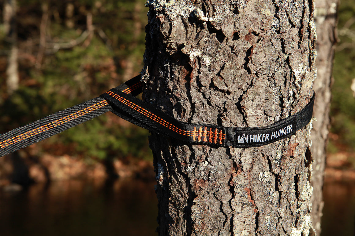 Hiker Hunger - 14' Feet Hammock Straps - Best Hiking Gear!