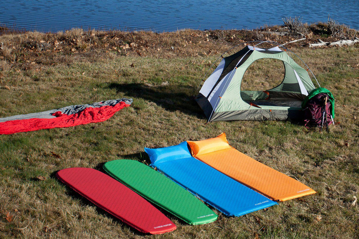 Hiker Hunger - Self Inflating Sleeping Pad - Best Hiking Gear!