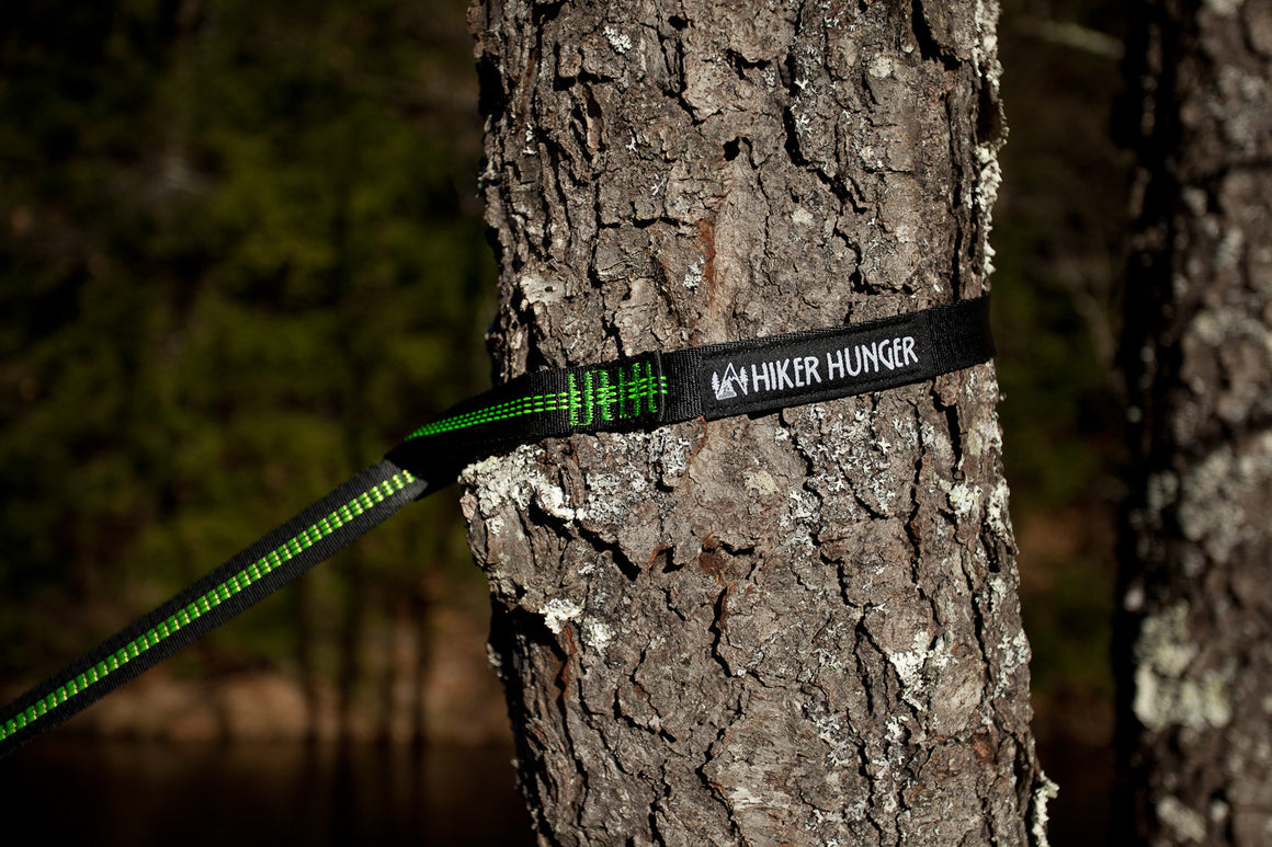 Hiker Hunger - Green Hammock Set - Best Hiking Gear!