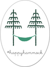 Hiker Hunger - Happy Hammock Sticker - Best Hiking Gear!