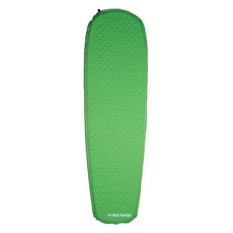 Green Self Inflating Sleeping Pad
