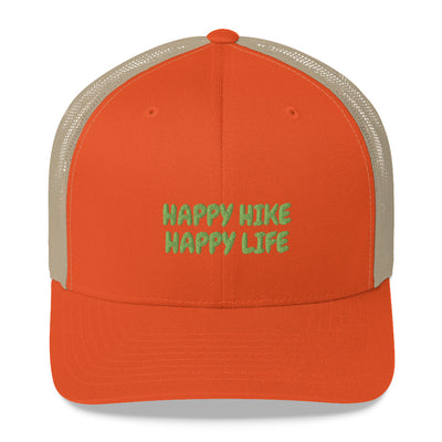 Happy Hiker Life - Trucker Hat