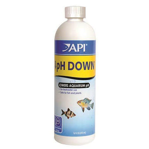 API | pH Down (16 fl oz) 017163020301 Super Cichlids