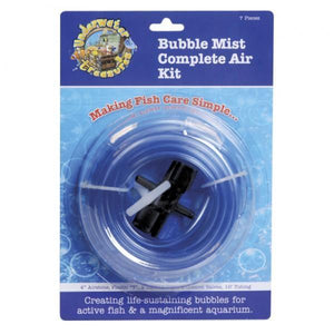 Underwater Treasures | Bubble Mist Complete Air Kit 628742007318 Super Cichlids