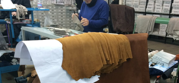 Leather Sourcing And Cutting