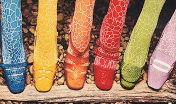 Coloured Shoes - A Signature of Sixties and Seventies Style