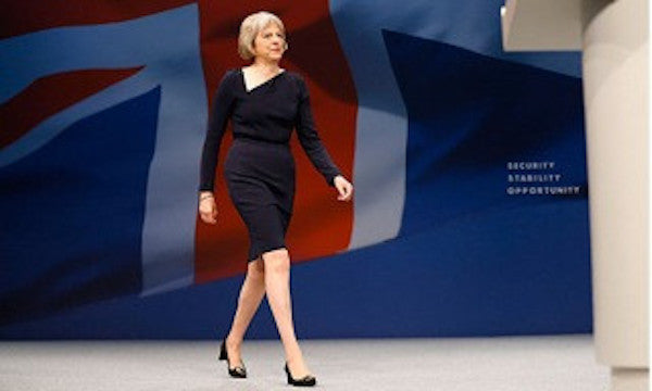 Theresa May - the politics of shoes
