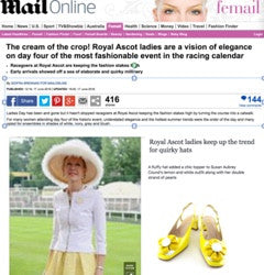 Ascot - featured in MailOnline