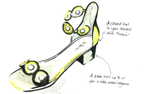 closed heel sandal