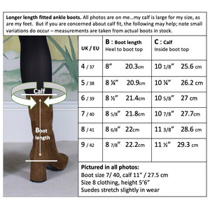 If you are worried about the close fit, here are measurements by size.