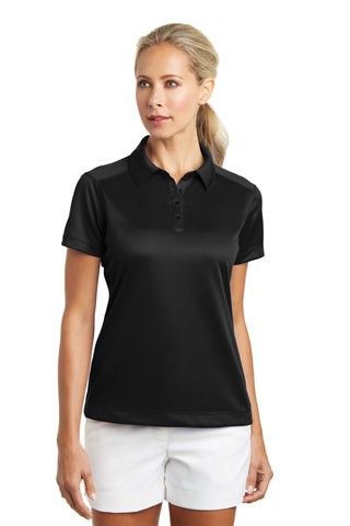 Nike Golf® Ladies Dri-FIT Pebble Texture Polo