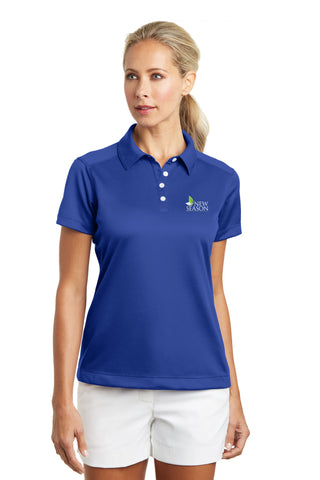 Nike Golf® Ladies Dri-FIT Pebble Texture Polo - 354064