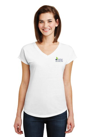 Anvil® Ladies Tri-Blend V-Neck Tee - 6750VL