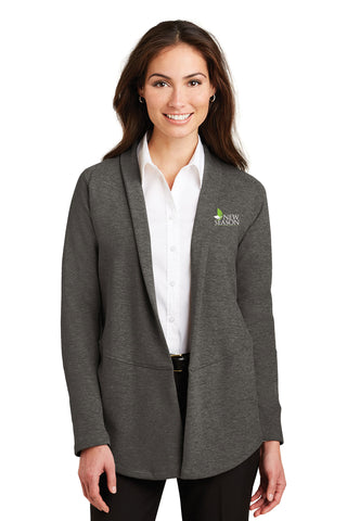 Port Authority® Ladies Interlock Cardigan