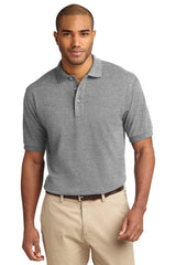 TALL Port Authority® Heavyweight Cotton Pique Polo