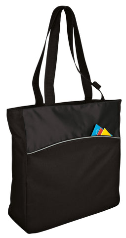 Port & Company® Two-Tone Colorblock Tote - B1510