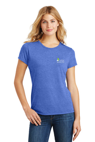 District Made® Ladies Perfect Tri® Crew Tee - DM130L