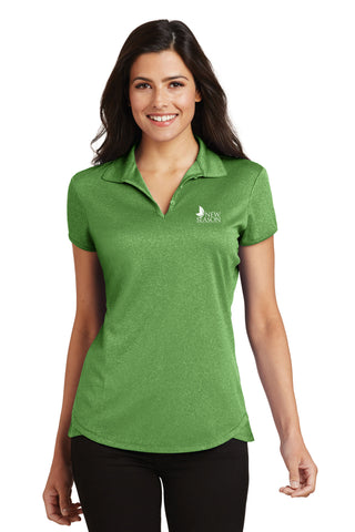 2017 Port Authority® Ladies Trace Heather Polo - L576