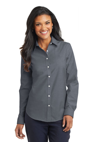 Port Authority® Ladies SuperPro Oxford Shirt - L658