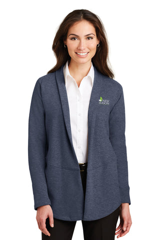 Port Authority® Ladies Interlock Cardigan - L807