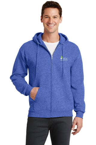 Port & Company® Classic Full-Zip Hooded Sweatshirt - PC78ZH