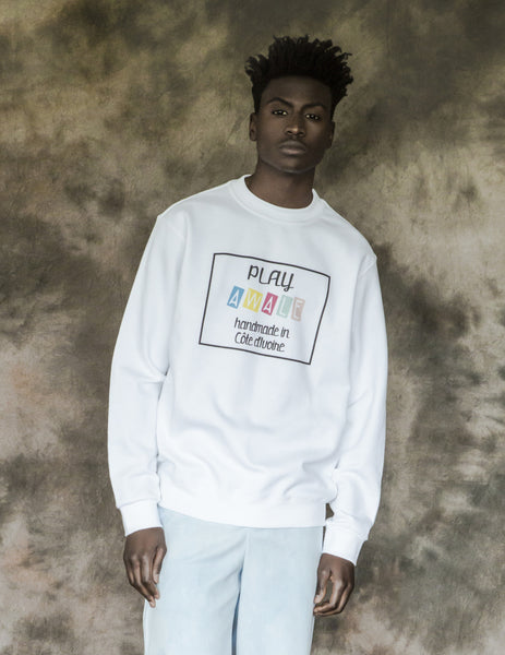 """play awale"" sweat-shirt"