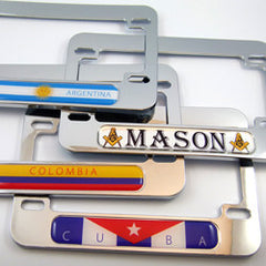 Motorcycle Plate Frames