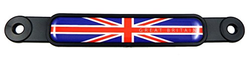 Great Britain England British Flag Screw On License Plate Emblem Car Decal Badge