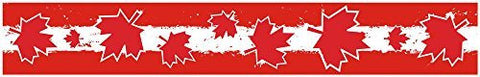 "24"" Vinyl trim Canada Canadian flag strip sticker decals hood bumper car"