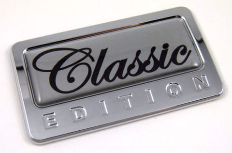 Car Chrome Decals CBEDI-CLASS Classic custom Edition Chrome Emblem with domed decal Car Auto Bike Badge