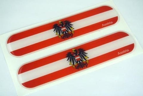 Austria domed decals