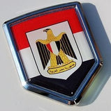 Egypt Decal Egyptian Flag Car Chrome Emblem Sticker badge