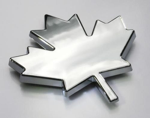 Car Chrome Decals CNPL-MAPLE Maple Leaf Canada car auto bike chrome decal toronto