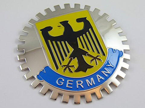 Grille Badge German Germany for car truck grill mount Deutschland