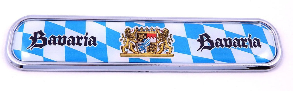 Bavaria Car Chrome Emblem 3D auto Decal Sticker for car Bike Boat 5.3""