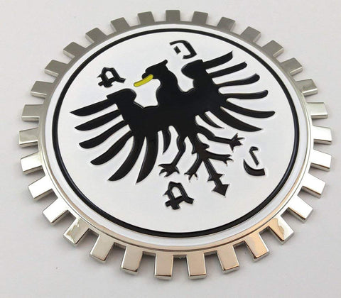 ADAC Grille Badge German car Club Flag for car Truck Grill Mount