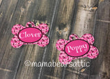 Personalized Dog Bone Tag
