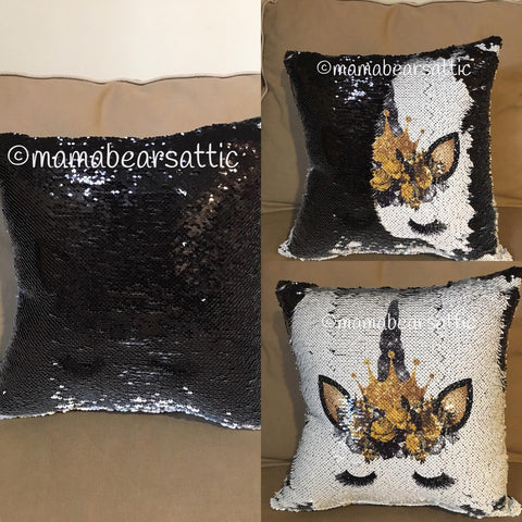 CUSTOM Sequins Pillows
